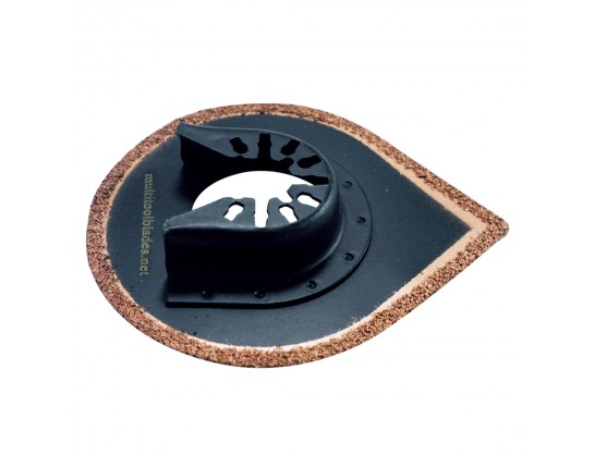 Water Drop Carbide Saw Blade - Tile And Grout - Quick Release Attachment
